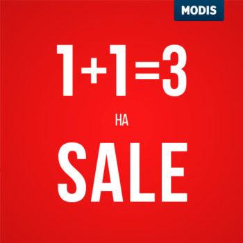 1+1=3на распродажу!