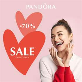 PANDORA summer sale up to −70%!