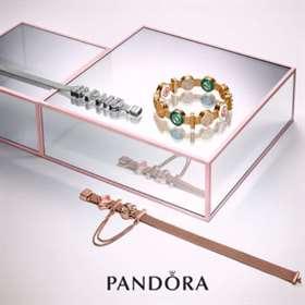 The New Pandora collection Reflexions Alphabet