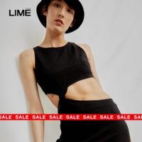 LIMÉ summer sale: скидки увеличены до−70%
